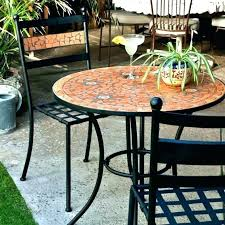 outdoor table and chairs. Mosaic Bistro Table Set Outdoor Cafe And Chairs Furniture Luxury Patio