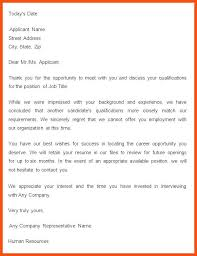 Rejection Letter Sample Vendor Rejection Letter Company Logo Or ...