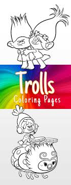 Discover these trolls coloring pages ! Trolls Coloring Pages And Printable Activity Sheets And A Movie Review
