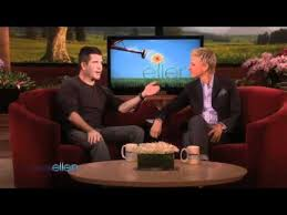 Ellen Reveals Simon's Best Backstage 'Idol' Moments - YouTube