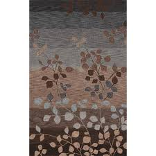 studio mocha rectangular 8 ft x 10 ft rug