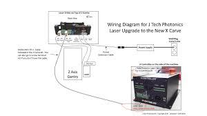 x carve upgrade j tech photonics inc new x carve j tech laser wiring diagram