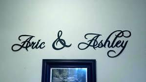 metal words wall art decor stunning word custom made and phrases artwork e metal words wall art