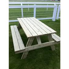 hampshire 8 seater picnic table