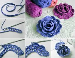 Crochet Flower Pattern Adorable Dainty DIY Crochet Flowers With Free Pattern