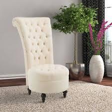 velvet accent chair. Image Is Loading HOMCOM-45-034-Tufted-High-Back-Velvet-Accent- Velvet Accent Chair