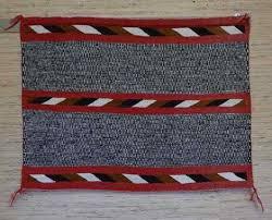 twill single navajo saddle blanket 27 x 35 circa 1920