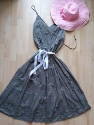 Khaki šaty Ca Vel 42