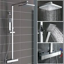 Details Zu Duschsystem Mit Thermostat Regendusche Duschset Dusche Duscharmatur Duschpaneel
