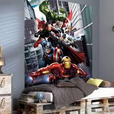 Marvel Bedroom Marvel Team Avengers Wallpaper Xl Great Kidsbedrooms The