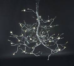 "48"" <b>Firefly chandelier</b>, pewter finish Bodner <b>Chandeliers</b> 