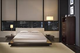 ... Awesome Dark Brown Stained Wooden Floating Bed Frame With White Accent  With Floating Bed Also Amazing ...