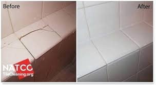 how to replace a ed shower tile fix marble chipped countertop