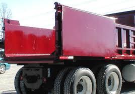 dump body option barn door tailgate