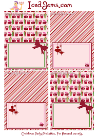 christmas party printables christmas printable tags