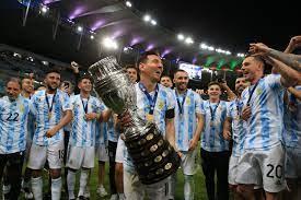 Lionel Messi gewinnt mit Argentinien die Copa America gegen Brasilien - DER  SPIEGEL