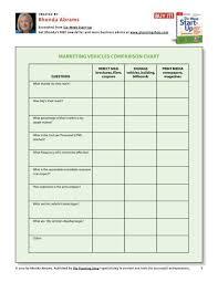 Marketing Vehicles Comparison Chart The Planning Shop