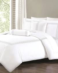 queen duvet cover 5 piece key embroidered comforter set white cotton covers size us