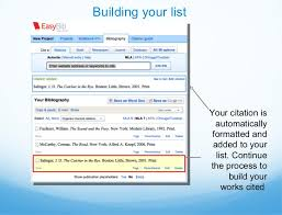 EasyBib com is an information literacy platform providing research   note taking and citation tools  EasyBib s institutional service helps  students avoid