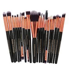 20 pcs professional cosmetics make up brushes set tools foundation eyeshadow lips makeup brushes
