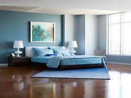 Wonderful Plain Bedroom Blue Walls On Regarding Remarkable Within Wall Ideas Your  Dream Home 10