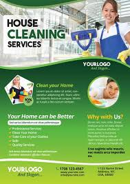 Cleaning Brochure Cleaning Service Free Psd Flyer Template Download Free