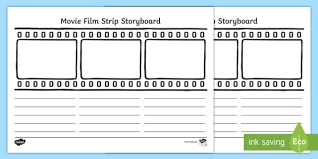 Film Picture Template Movie Film Storyboard Template Movie Film