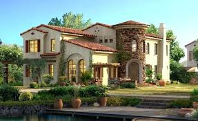 elevation courtyard mediterranean style house plans with front elegant spanish plan gable kitchen on the two bedroom