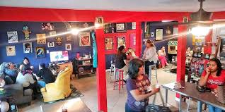 The south flores coffee shop, owned by husband and wife team chef joel tatu herrera and emilie garcia herrera, will host its grand opening. Folklores Coffee House Upcoming Events In San Antonio On Do210