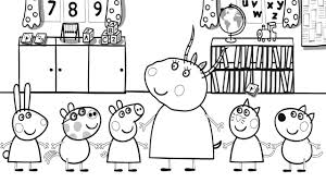 Coloring Pages Peppa Pig Unique Image Cute Pig Coloring Pages Print