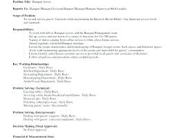 Resume Sample For Waitress Sample Resume For A Waitress Waitress ...