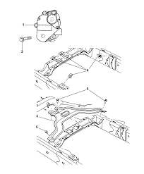 5143477aa genuine mopar gear mtr transfer case 2007 chrysler aspen gear motor skid plate electric shift diagram i2170416