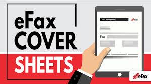 Fax Cover Sheets Templates For Sending A Fax Online Youtube