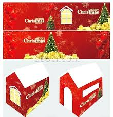 christmas house template christmas house template house graphic design template