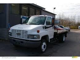 2003 Summit White Chevrolet C Series Kodiak C4500 Stake Truck ...