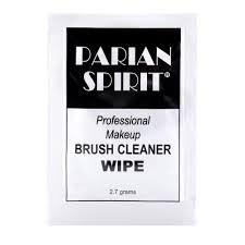 parian spirit brush cleaner wipe pack of 2 sachets