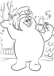 Snowman Coloring Pages Snowman Coloring Pages Free Printable
