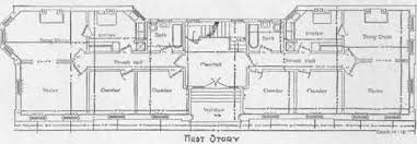 Example Of Apartment House Plans First Floor Plan of Apartment House
