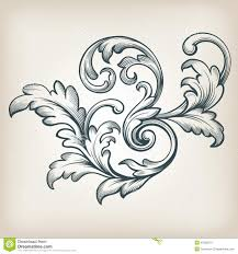 vintage frame tattoo designs. Vintage-baroque-scroll-designs_150674.jpg Vintage Frame Tattoo Designs