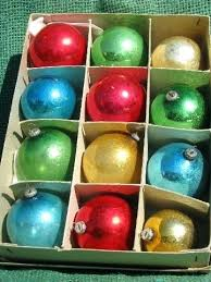 terrific bowling ornaments g3683171 old ornaments lot miniature feather tree glass vintage japan