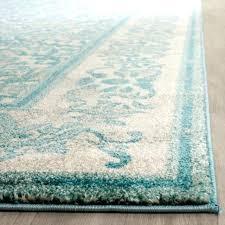 evoke ivory light blue 3 x 5 rug safavieh vintage center medallion distressed contemporary area rugs
