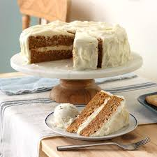 Old Fashioned Carrot Cake With Cream Cheese Frosting Recipe Taste