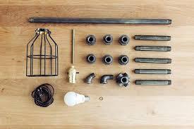 lamp pipe materials for black pipe table lamp industrial pipe lamp parts