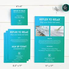 How To Create Flyers Flyer Printing Business Flyers Vistaprint