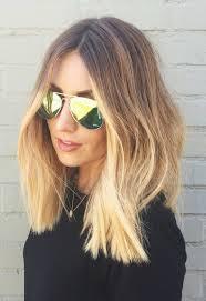 Die Besten 25 Mittellange Blonde Ideen Auf Pinterest
