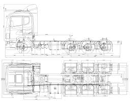 Scania P380 Db 8x4 Hnb Blueprints Vector Dibujos Para Colorear