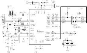 usb 1 usb to serial interface kit circuit