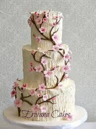 15 beautiful cherry blossom wedding cakes