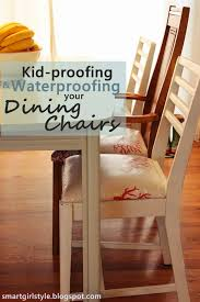 how to waterproof your upholstered dining chairs