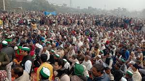 Farmers now streamed to Delhi, India. This time with more enthusiasm.